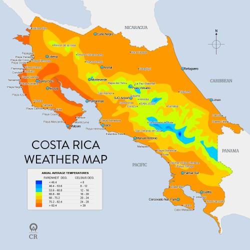 costa rica climate